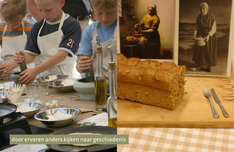vermeer en brood
